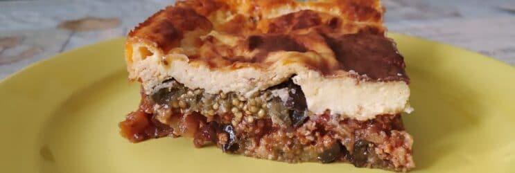 Мусака из баклажан по-гречески - готовое блюдо по рецепту