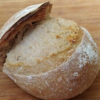 хлеб запеченный без использования чугунной кастрюли