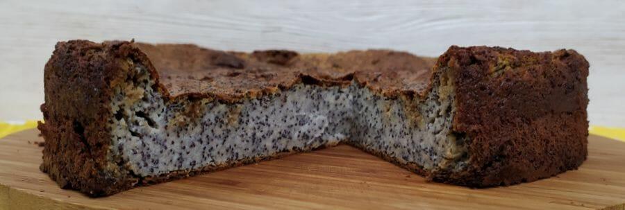 Пирог с творогом и халвой - готовое блюдо по рецепту